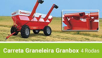 Carreta Graneleira Granbox 4 rodas Agrimec