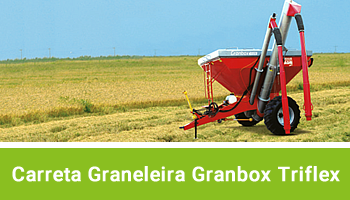 Carreta Graneleira Granbox Triflex - Duplo - agrimec
