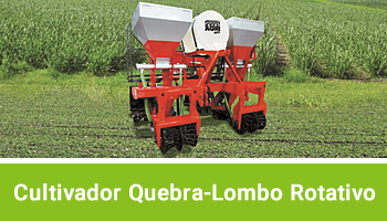 Cultivador Quebra-Lombo Rotativo AGRIMEC