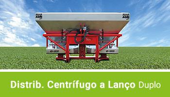 Distribuidor Centrífugo a Lanço - Duplo - AGRIMEC