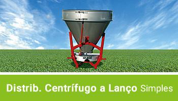 Distribuidor Centrífugo a Lanço - Simples - AGRIMEC