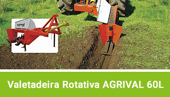 Valetadeira Rotativa Agrival 60L AGRIMEC